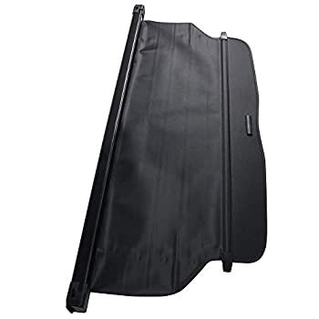 Retractable Cargo Cover Compatible With 2012-2016 Honda CRV Factory Style Black Luggage Carrier Rear Trunk Security Cover by IKON MOTORSPORTS 2013 2014 2015