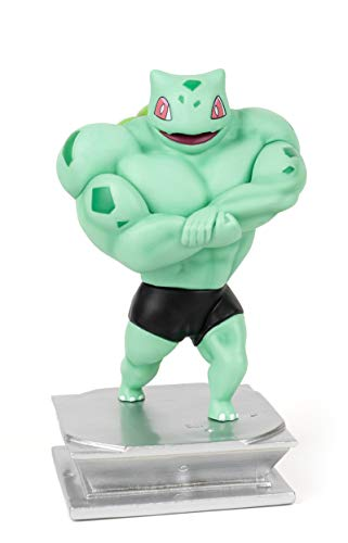 """Anime Action Figure GK Bulbasaur Figure Statue Figurine Bodybuilding Series Collection Birthday Gifts PVC 7 """""""