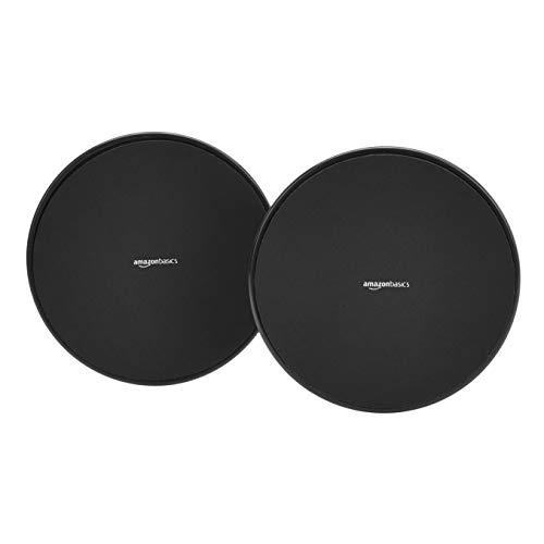Amazon Basics Double Sided Core Exercise Gliding Sliders - 1-Pair