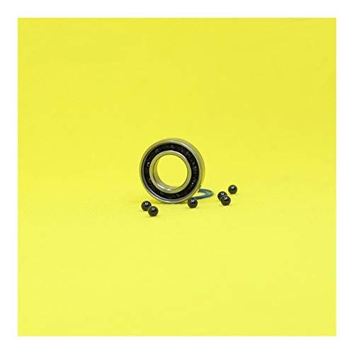 Repair Tools Rodamientos de Bolas de reemplazo, 6800 6800RS híbridos de rodamiento cerámico ABEC-1 (1 PC) Bicicletas pedalier y Recambios rodamientos de Bolas Si3N4 10x19x5 mm