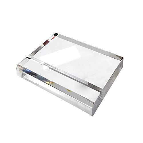 SupperAcrylic Tischkartenhalter aus Acryl, für Hochzeiten, Empfänge, Tischnummern, Bankett-Tische, 12 Stück