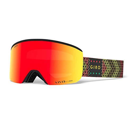 Giro Axis Snow Goggles Mo' Rasta - Vivid Ember/Vivid Infrared