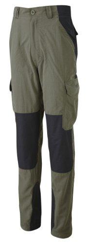 Bear Grylls Survivor - Pantalon - Homme Marron Kaki foncé/Noir 81,2 cm - Longueur des Jambes Courte