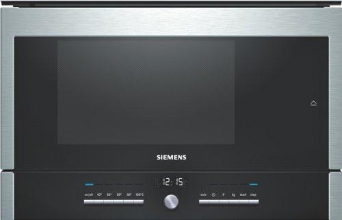Siemens HB25D5L2 Dampfgarofen / 22 L Garraum / Edelstahl / LED-Innenbeleuchtung