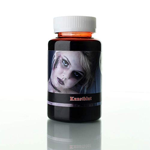 KOH fake blood 250 ml Halloween premium film sangue, trucco da zombie, trucco da vampiro, sangue finto, carnevale