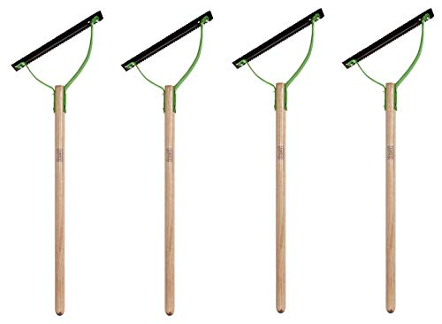 AMES 2915300 Double Blade Weed Grass Cutter with Hardwood Handle, 30 Inch, Brown (F?ur Pa?k)