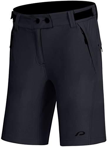 Protective P-After Hour - Pantalones cortos de ciclismo para mujer, color antracita, talla EU 42 | XL 2021