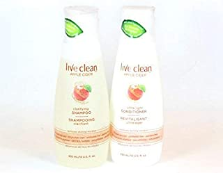 Live Clean Apple Cider Shampoo And Conditioner Set 12 oz. Each