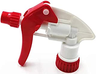 Eco Car Care Trigger Sprayer Spray Bottle Nozzle for 32oz Bottle Red & White (10 Pack)