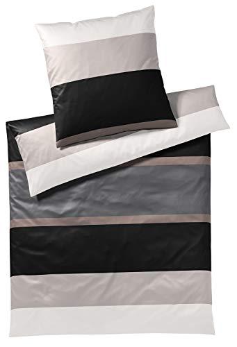 Joop! Biancheria da letto Mood Graphite 1 copripiumino 200 x 220 cm + 2 federe 80 x 80 cm