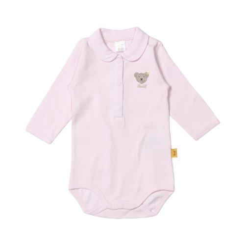 Steiff Unisex - Baby Body 0008693, Gr. 86, Rosa (barely pink 2560)