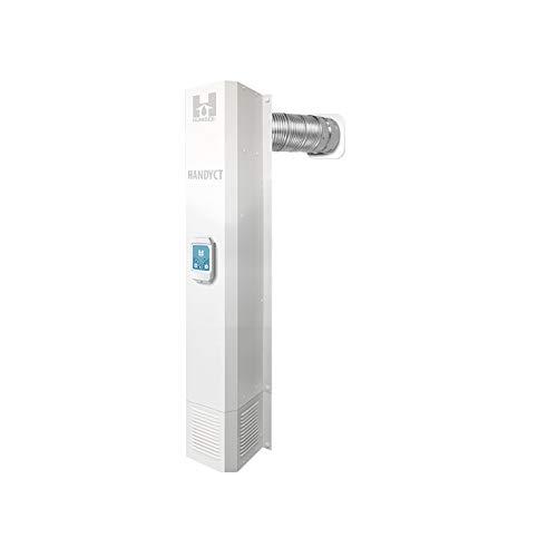HandyCT Basement dehumidifier and Extractor DVS-HW - Digital Ventilation System Demi-Basement Unit - The New UNS-105 Digital - 1500sq ft - 51' High