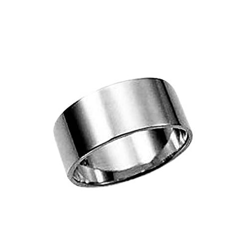 プラチナリング 大きいサイズ 純プラチナリング 平打巾7mm11g プラチナリング 高密度 オーダー 結婚指輪(22号)