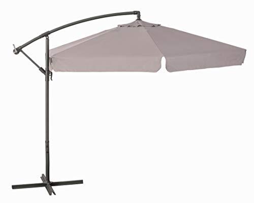 ombrellone da giardino verdelook VERDELOOK Ombrellone da Giardino con Struttura in Metallo Verniciato e Copertura in Poliestere