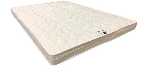 Provence Literie Matelas Très Ferme pour Canapé Lit 140x190 x 10 cm - 5 Zones de Confort - Ame Poli Lattex Haute Résilience - Hypoallergénique