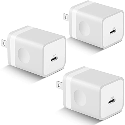 20W Fast USB C Charger, KENHAO 3-Pa…
