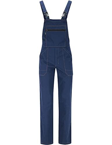 BWOLF Anax - Peto de trabajo para hombre (algodón), color azul lau XXXL