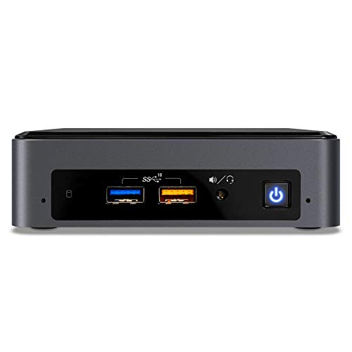 Intel NUC NUC8i5BEK Mini PC/HTPC, i5 NUC Slim mit 16GB Ram, 512GB SSD, Intel Core i5-8259U 2.3GHz, Windows 10 Pro, Bluetooth, WiFi, 4k Support, Dual Monitor Capable (16GB Ram + 512GB SSD)