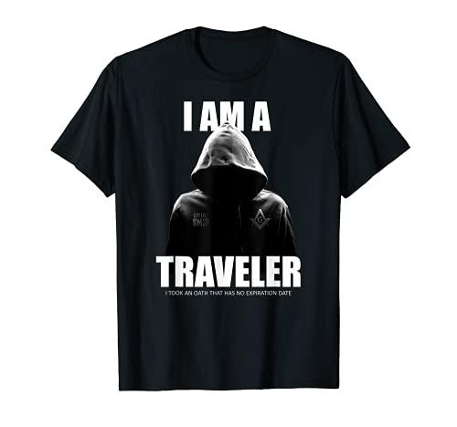 Masonic Shirt I Am A Traveler SMIB Freemason T-Shirt