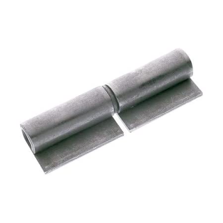 PACK 12 Bisagra pernio soldar redondo 12x80 DOJA Industrial