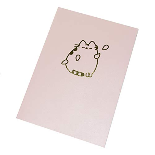 Pusheen - Luxus A5 Notizbuch - Sweet & Simple - 80 Seiten - liniertes Papier