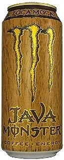 8 Pack - Monster Java Coffee + Energy - Loca Moca - 15oz.