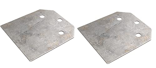 Replacement Blades for 4-in Wide THINSET REMOVAL BIT, Floor Scraper, SDS Plus (Set of 2 Blades)
