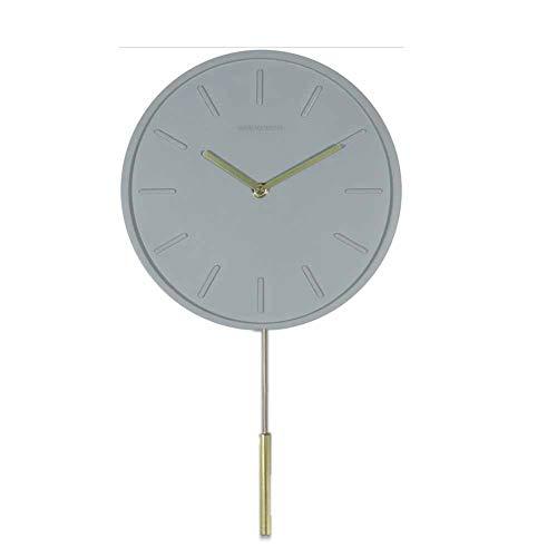 Tafel houlian winkel 10-inch Nordic Muur Klok Met Koper Swing Klokken Hedendaagse Stijl Cement Klokken A