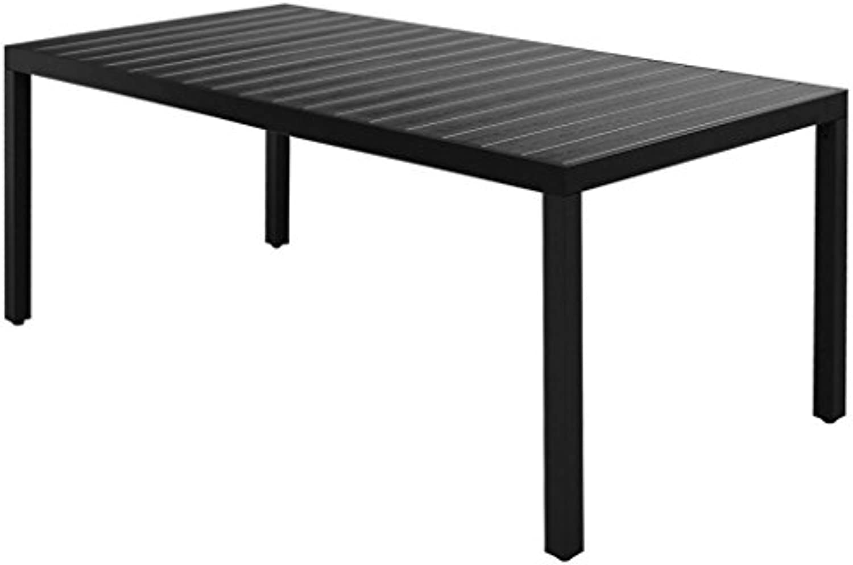 VidaXL Garten-Esstisch Gartentisch Outdoor Tisch Terrassentisch Gartenmbel