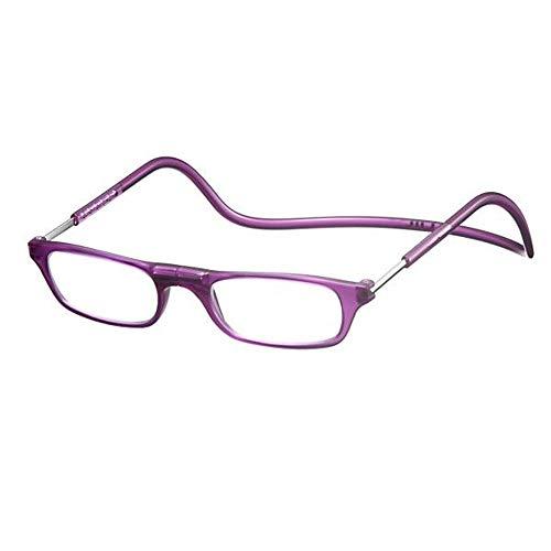 老眼鏡 CliC readers(クリック リーダー) マットパープル +3.00
