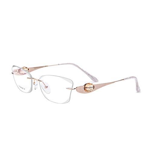XIAOTANBAIHUO Anteojos Gafas de titanio puro, de alta calida