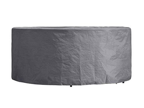 Perel Garden OCGS200 Housse de Protection pour Salon de Jardin Rond Noir 260 x 85 cm