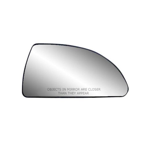 Fit System 80253 Passenger Side Non-heated Replacement Mirror Glass with Backing Plate