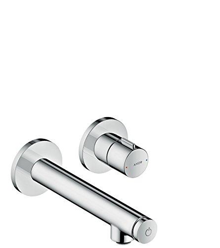 AXOR Wasserhahn Uno Select Waschtischarmatur, Unterputz, Wandmontage, 165 mm Auslauf, Chrom