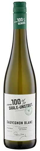 100% Purer Genuss Für mich 100% Saale-Unstrut Sauvignon Blanc Trocken (1 x 0.75 l)