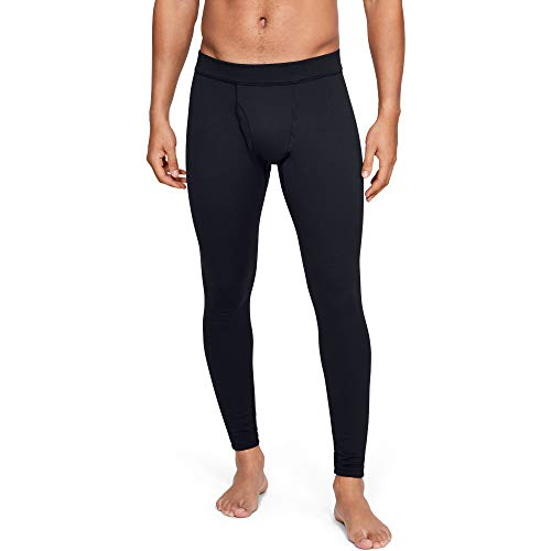 Under Armour Men's Packaged Base 4.0 Leggings, Black (001)/Pitch Gray, Large