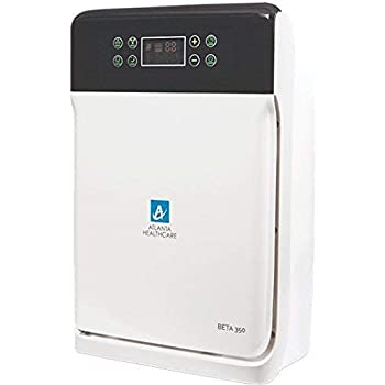 Atlanta Healthcare 7-Stage 43-Watt Air Purifier With Hepa, Ionizer, Anti-Bacterial Filter, Activated Carbon, Photo Catalyst And Uv [Cadr = 120 Cum/Hr]