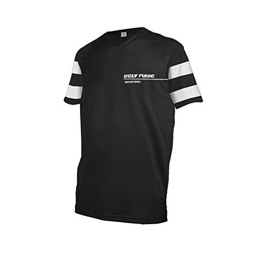 UGLY FROG Fahrrad Radsport Trikots & Shirts Herren - Radfahrer - Mountain-Bike - MTB - BMX - Biker - Rennrad - Outdoor - Downhill Jersey- Freeride - Special Designs Kurz/Langarm DEHerDownF05