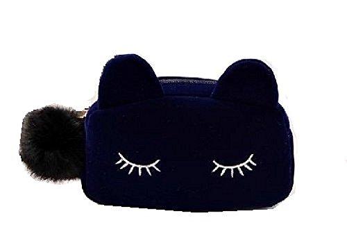 猫 化粧ポーチ