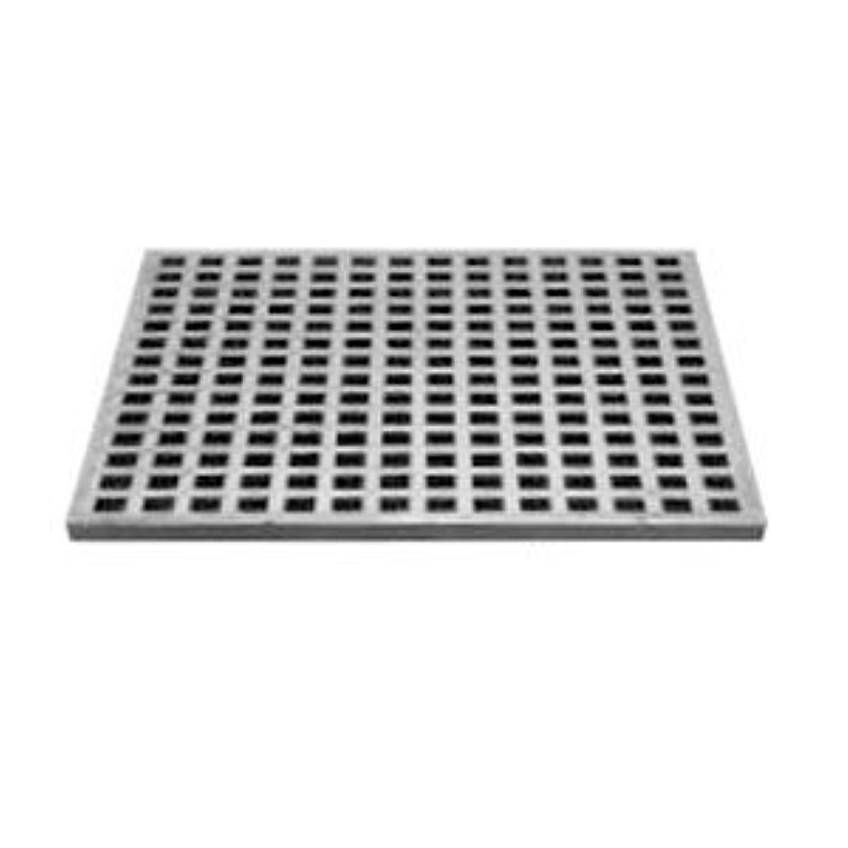 マトロン迷路適切なカネソウ 鋳鉄製みぞ蓋 格子タイプ 正方形 450角×H15mm メーカー直送 代引不可 GA-450kakuH15