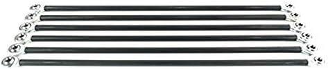 SUZYN Printer Accessories 6Pcs/Set Parallel Manipulator Fisheye Carbon Rod Kits Compatible with M3 20Cm Screws Kossel Delta 3D Printer Parts Accessories