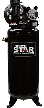 NorthStar Electric Air Compressor - 3.7 HP, 60-Gallon Vertical Tank: image