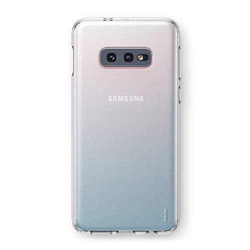 Amazon Brand – Solimo Mobile Cover (Soft & Flexible Back case) Transparent for Samsung S10e