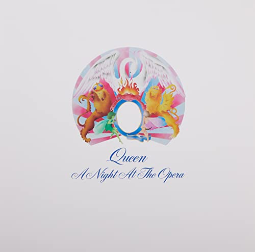 Queen - A Night at the Opera (Limited Black Vinyl) [Vinyl LP]