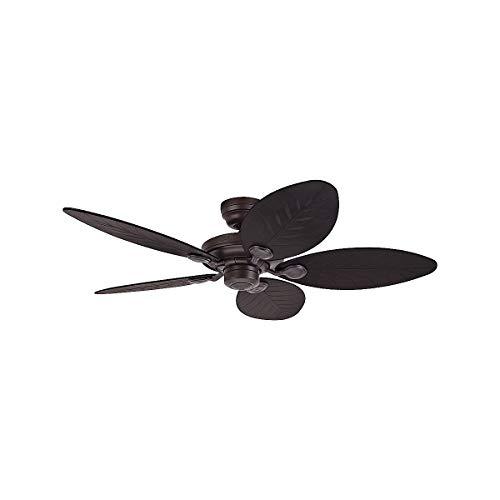 Hunter 24323 - Ventilador de techo outdoor elements, IP X3, 132 cm color: bronce nuevo