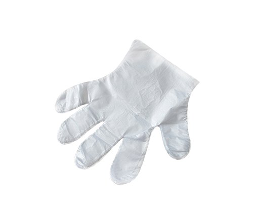 Leisial 1000 Stücke Einweg Handschuhe Folienhandschuhe Plastikhandschuhe Küche