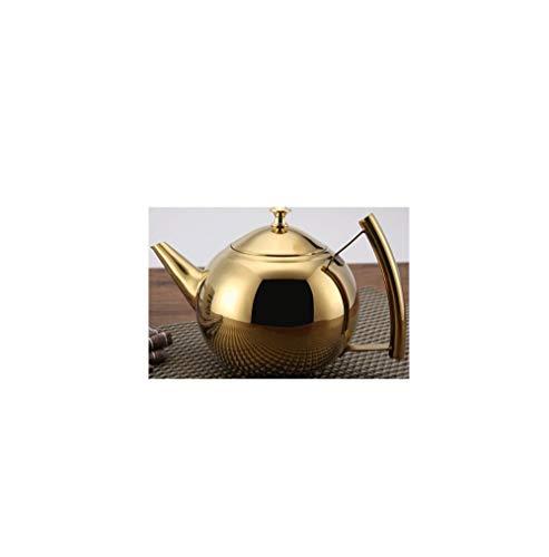 Roestvrij stalen theepot parel pot met filter koffiepot inductie fornuis met theepot huishoudelijke waterkoker TONGTONG SHOP-10.13