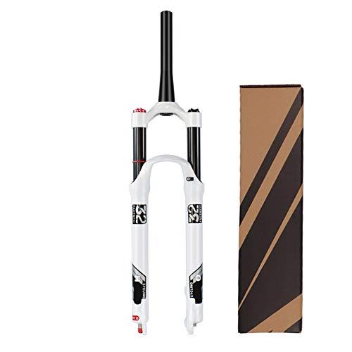 """VPPV 140 mm Horquilla de suspensión MTB 26/27,5 Pulgadas, Aleación Aluminio 1-1/8"""" Tubo Recto Bicicleta Cuesta Abajo Horquillas dirección (Color : B, Size : 26 Inch) ⭐"""