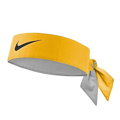 Nike Unisex – Adulto Dry-Fit Cinta para la Cabeza, Naranja, Talla única