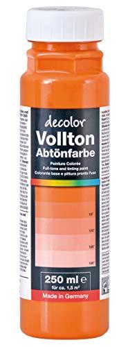 Decolor Abtönfarbe Orange